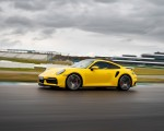 2021 Porsche 911 Turbo (Color: Racing Yellow) Front Three-Quarter Wallpapers 150x120 (9)