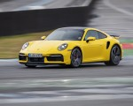 2021 Porsche 911 Turbo (Color: Racing Yellow) Front Three-Quarter Wallpapers 150x120 (14)