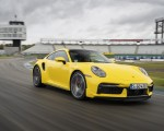 2021 Porsche 911 Turbo (Color: Racing Yellow) Front Three-Quarter Wallpapers 150x120 (3)