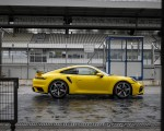 2021 Porsche 911 Turbo (Color: Racing Yellow) Side Wallpapers 150x120 (21)