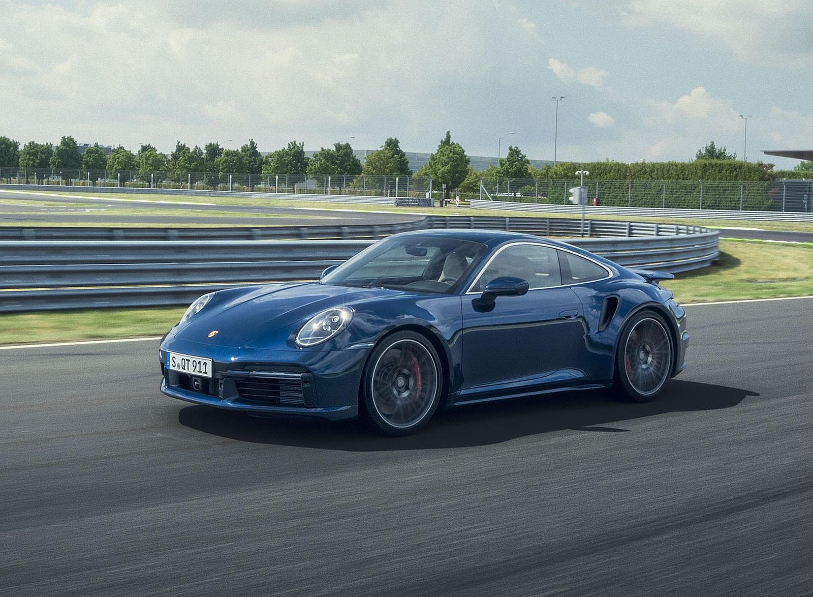 2021 Porsche 911 Turbo Front Three-Quarter Wallpapers (2)