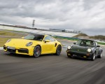 2021 Porsche 911 Turbo Front Three-Quarter Wallpapers  150x120 (49)