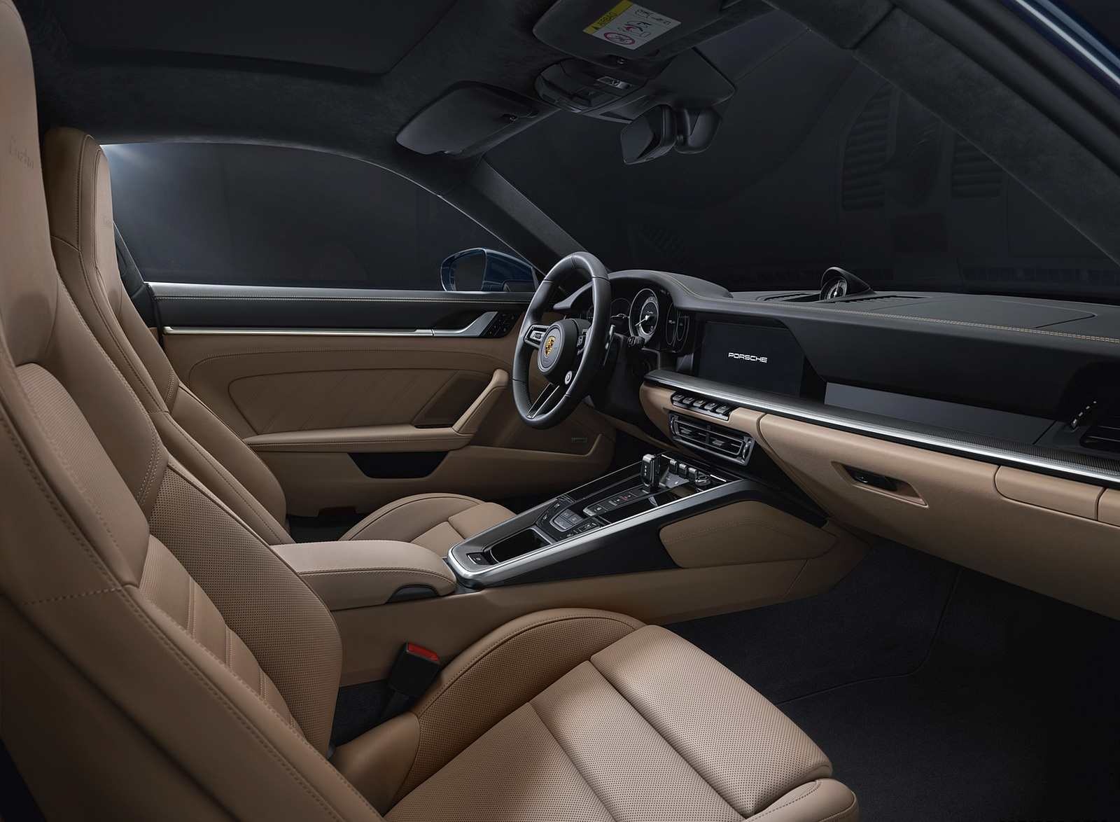 2021 Porsche 911 Turbo Interior Wallpapers (8)