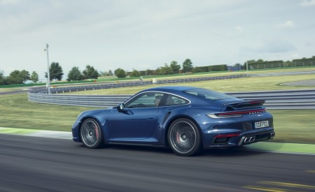 2021 Porsche 911 Turbo Rear Three-Quarter Wallpapers 450x275 (4)