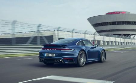 2021 Porsche 911 Turbo Rear Three-Quarter Wallpapers 450x275 (5)