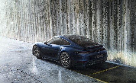 2021 Porsche 911 Turbo Rear Three-Quarter Wallpapers 450x275 (11)
