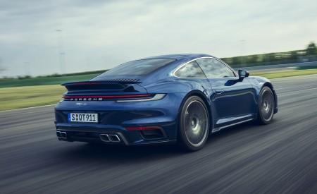 2021 Porsche 911 Turbo Rear Three-Quarter Wallpapers 450x275 (6)