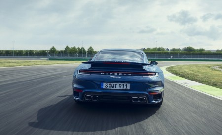 2021 Porsche 911 Turbo Rear Wallpapers 450x275 (7)