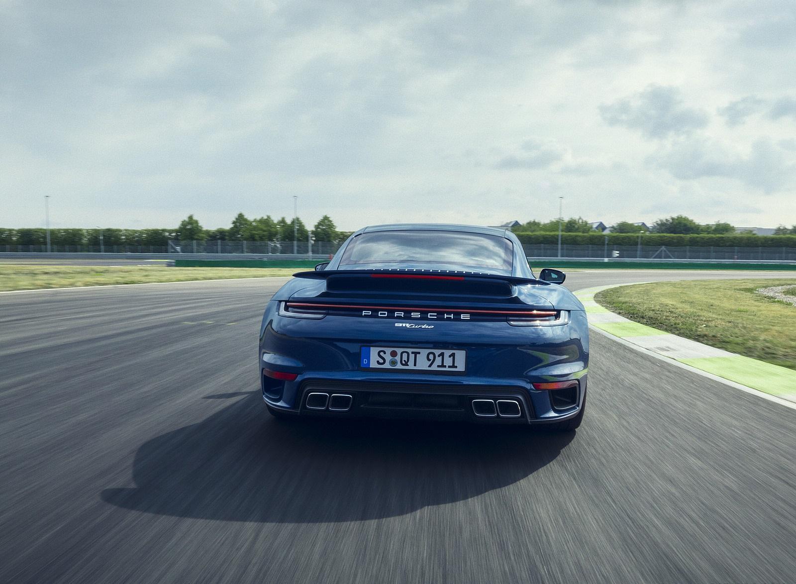 2021 Porsche 911 Turbo Rear Wallpapers (7)