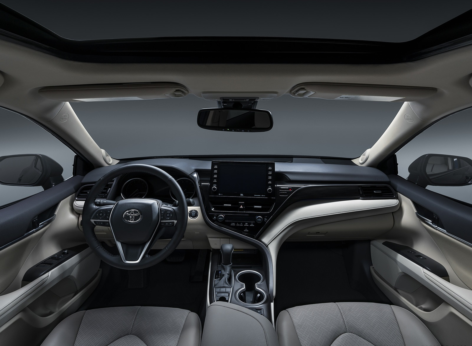 2021 Toyota Camry XLE Interior Cockpit Wallpapers (10)