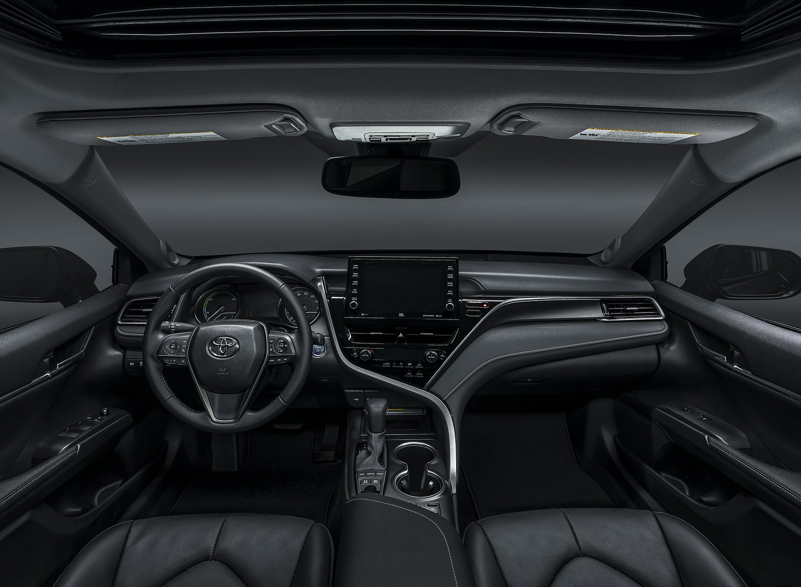 2021 Toyota Camry XSE Hybrid Interior Cockpit Wallpapers  (9)