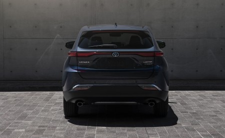 2021 Toyota Venza Hybrid Limited Rear Wallpapers 450x275 (15)