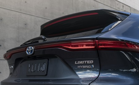 2021 Toyota Venza Hybrid Limited Tail Light Wallpapers 450x275 (20)