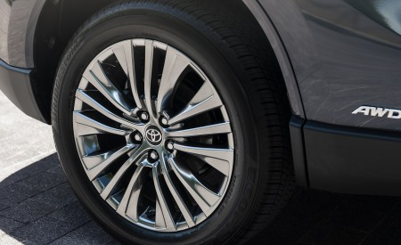 2021 Toyota Venza Hybrid Limited Wheel Wallpapers 450x275 (18)