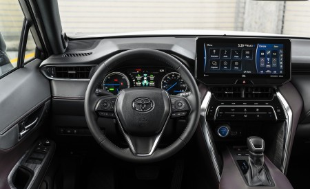 2021 Toyota Venza Hybrid XLE Interior Wallpapers 450x275 (22)