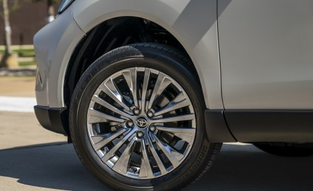 2021 Toyota Venza Hybrid XLE Wheel Wallpapers 450x275 (13)