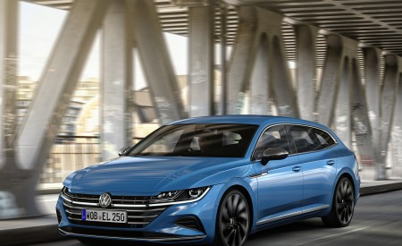 2021 Volkswagen Arteon Shooting Brake Elegance Wallpapers HD
