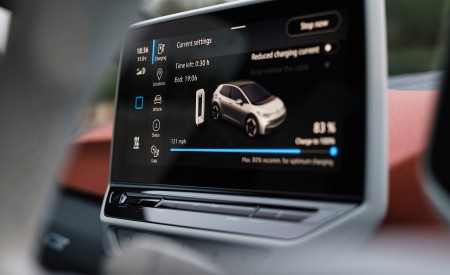 2021 Volkswagen ID.3 1st Edition (UK-Spec) Central Console Wallpapers 450x275 (89)