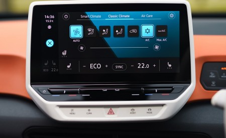 2021 Volkswagen ID.3 1st Edition (UK-Spec) Central Console Wallpapers 450x275 (93)