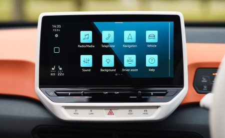2021 Volkswagen ID.3 1st Edition (UK-Spec) Central Console Wallpapers 450x275 (95)