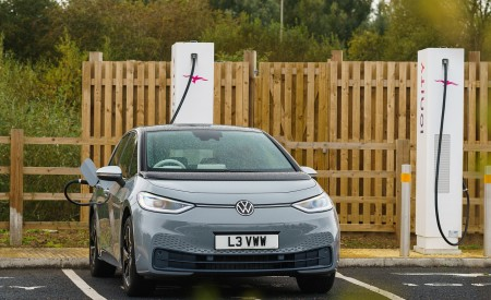 2021 Volkswagen ID.3 1st Edition (UK-Spec) Charging Wallpapers  450x275 (31)