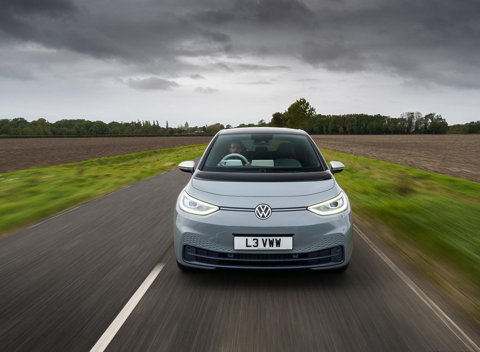2021 Volkswagen ID.3 1st Edition (UK-Spec) Front Wallpapers (4)