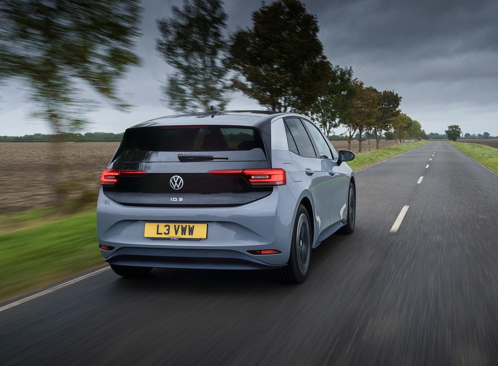 2021 Volkswagen ID.3 1st Edition (UK-Spec) Rear Wallpapers  (6)