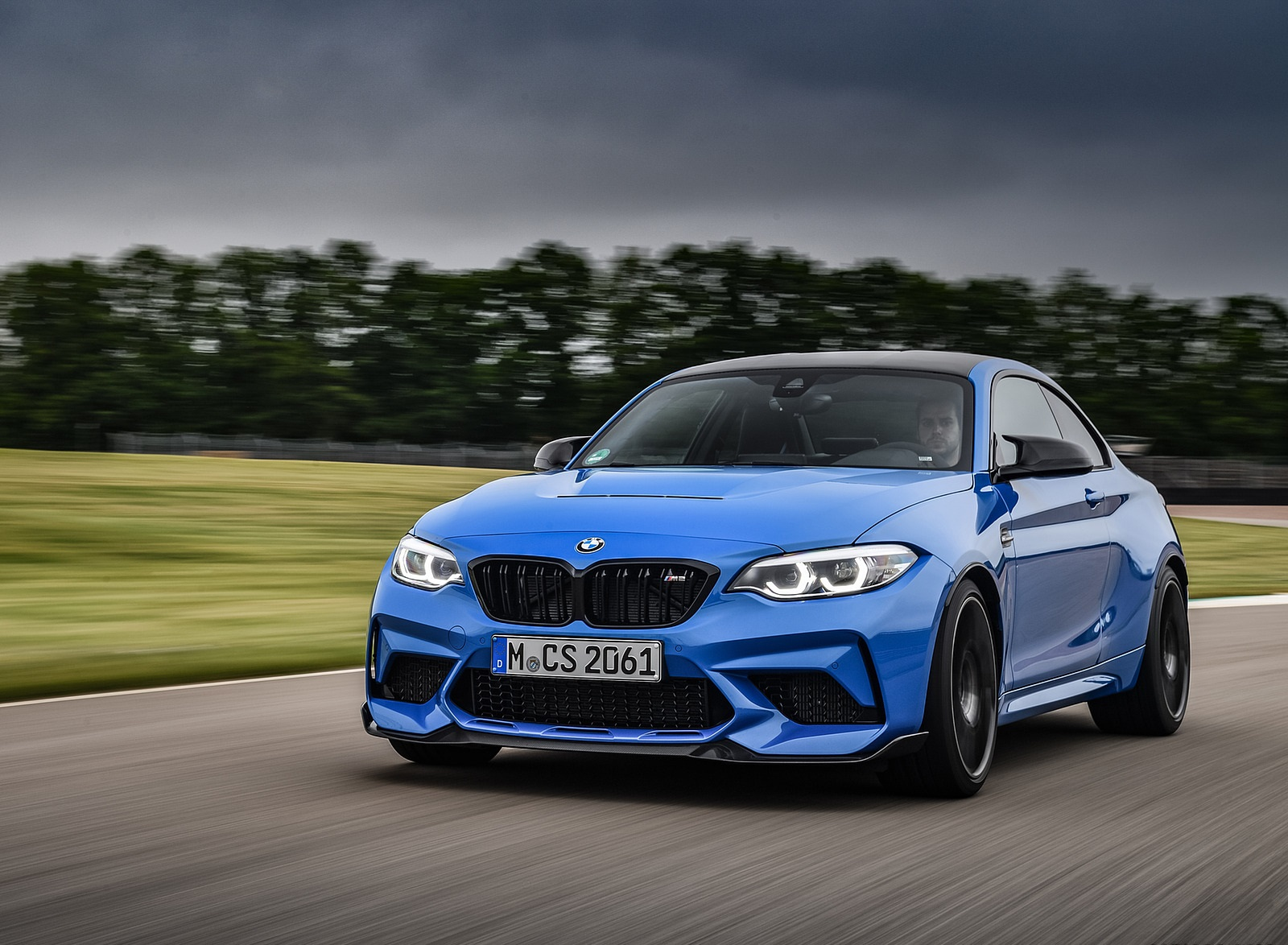 2020 BMW M2 CS Coupe Front Three-Quarter Wallpapers  (5)