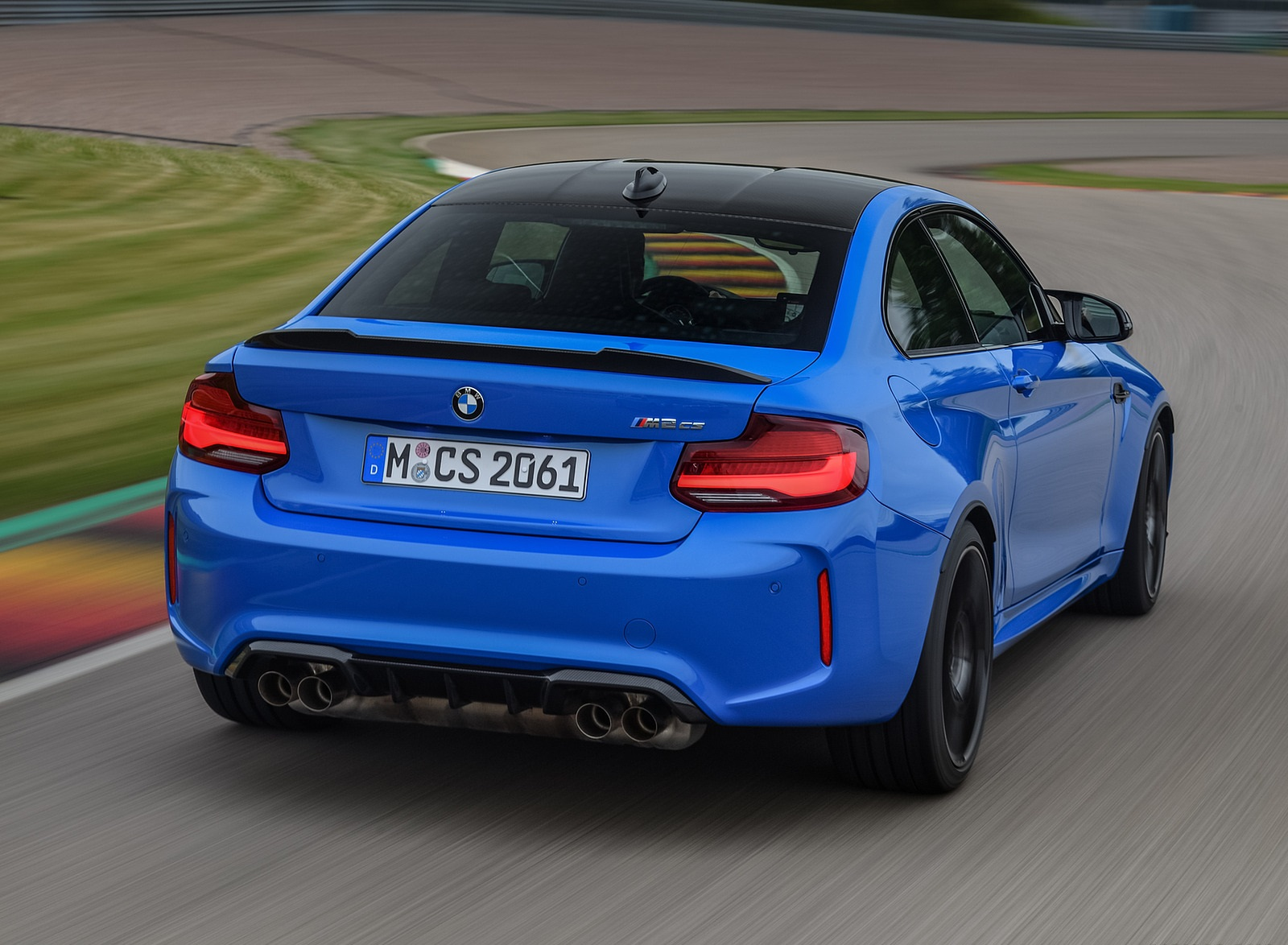 2020 BMW M2 CS Coupe Rear Wallpapers  (3)