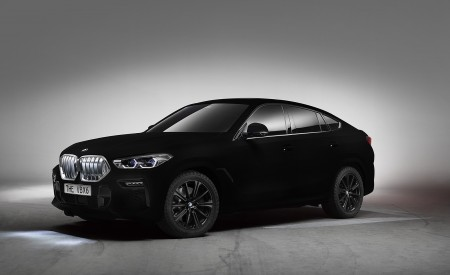 2020 BMW X6 Vantablack Wallpapers HD