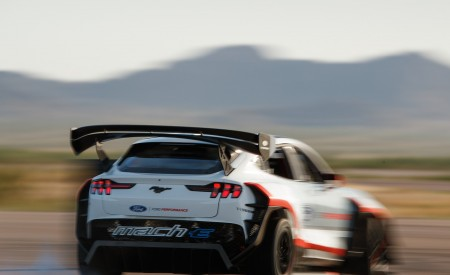 2020 Ford Mustang Mach-E 1400 Concept Rear Wallpapers 450x275 (6)