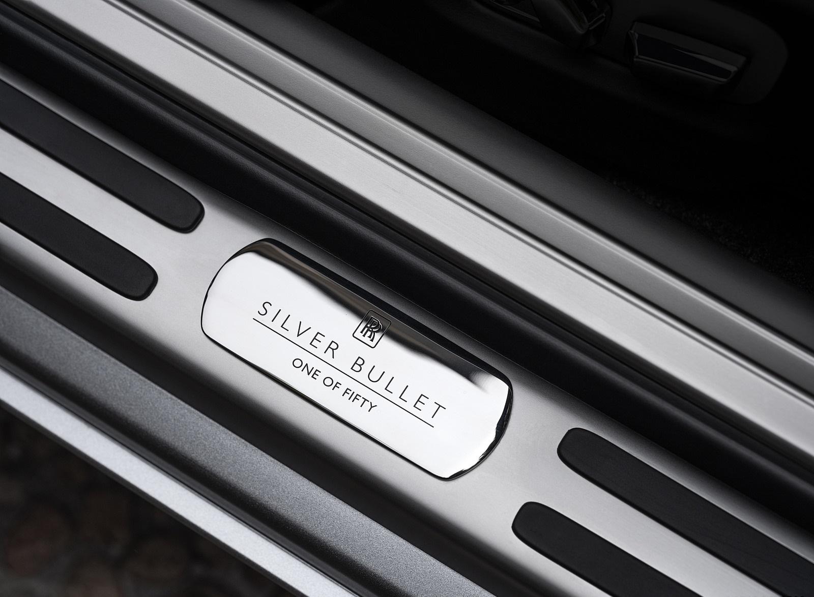 2020 Rolls-Royce Dawn Silver Bullet Door Sill Wallpapers (10)