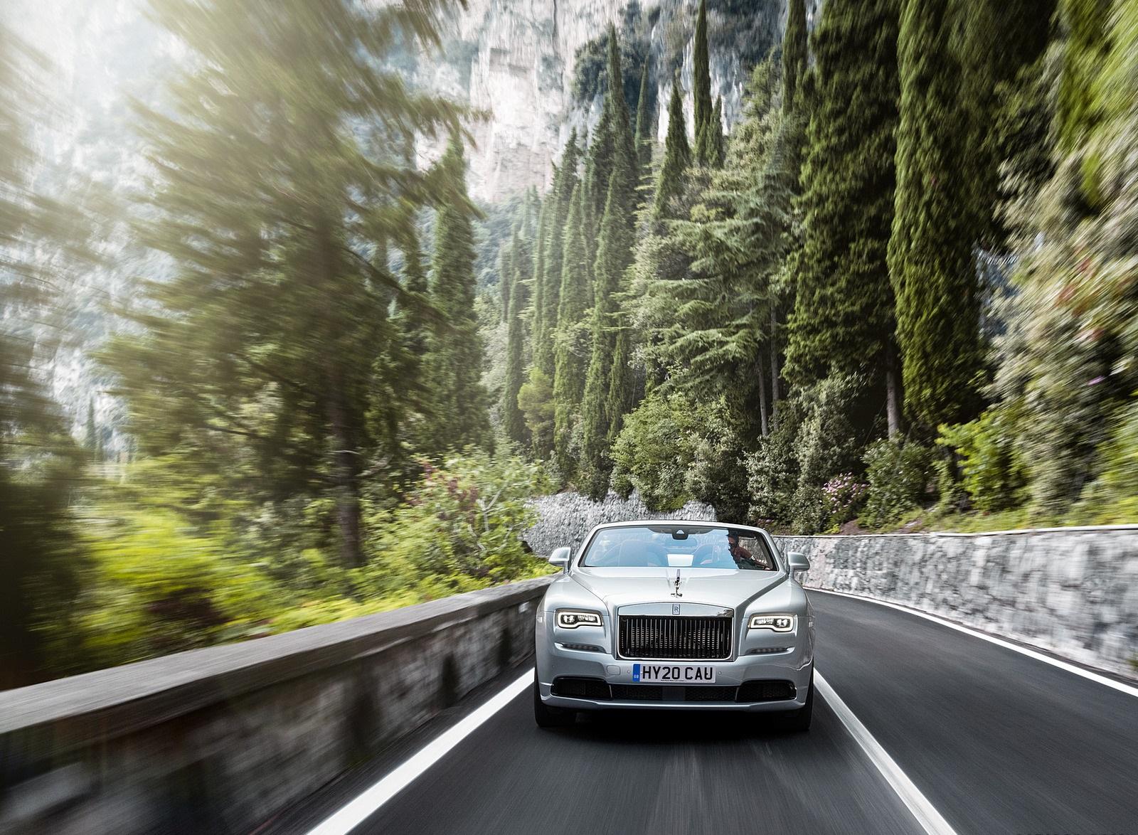 2020 Rolls-Royce Dawn Silver Bullet Front Wallpapers (2)