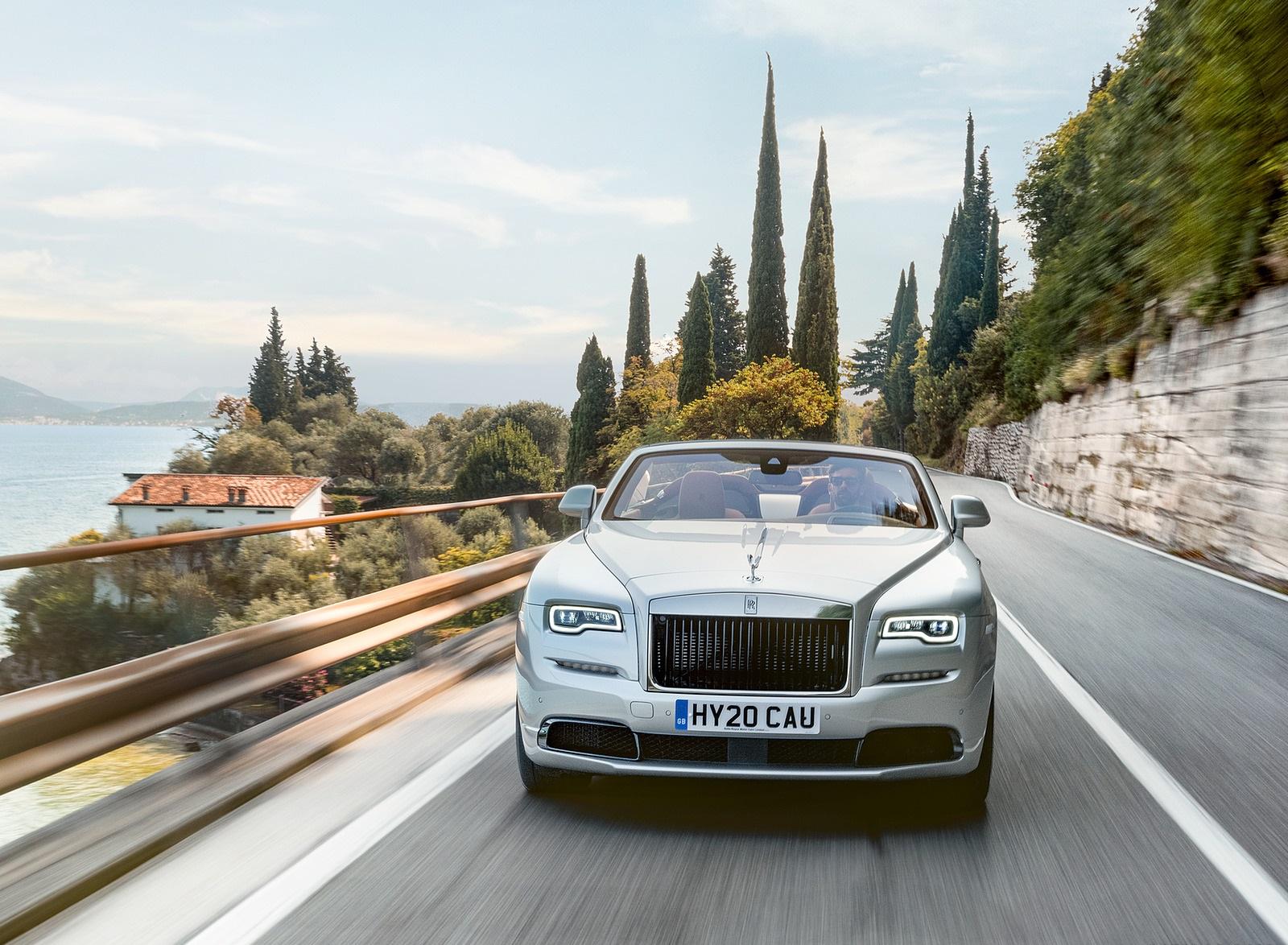 2020 Rolls-Royce Dawn Silver Bullet Front Wallpapers  (1)