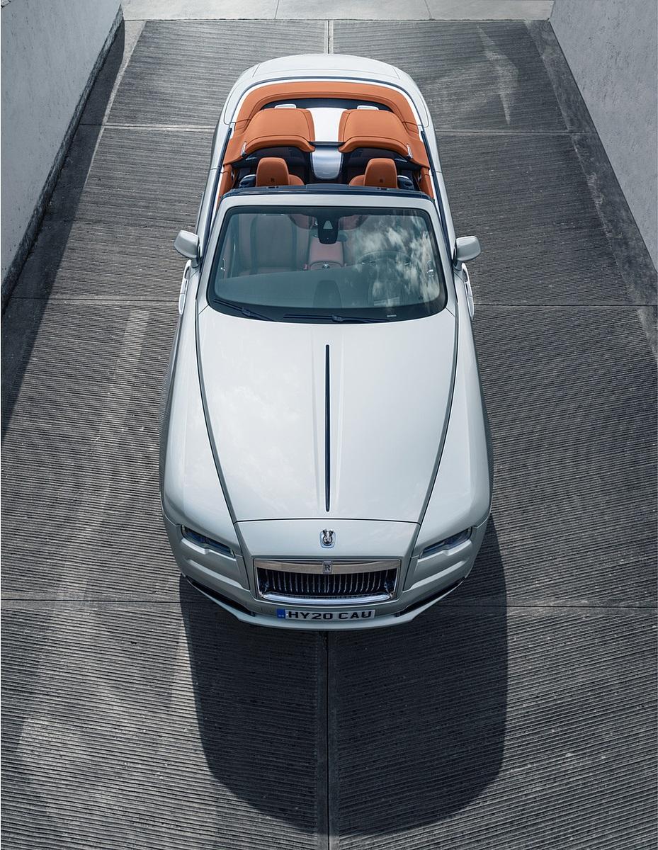 2020 Rolls-Royce Dawn Silver Bullet Top Wallpapers (7)