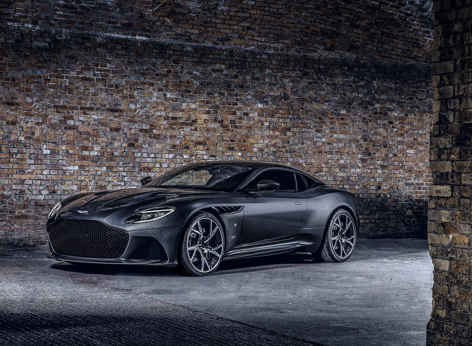 2021 Aston Martin DBS Superleggera 007 Edition Front Three-Quarter Wallpapers (1)