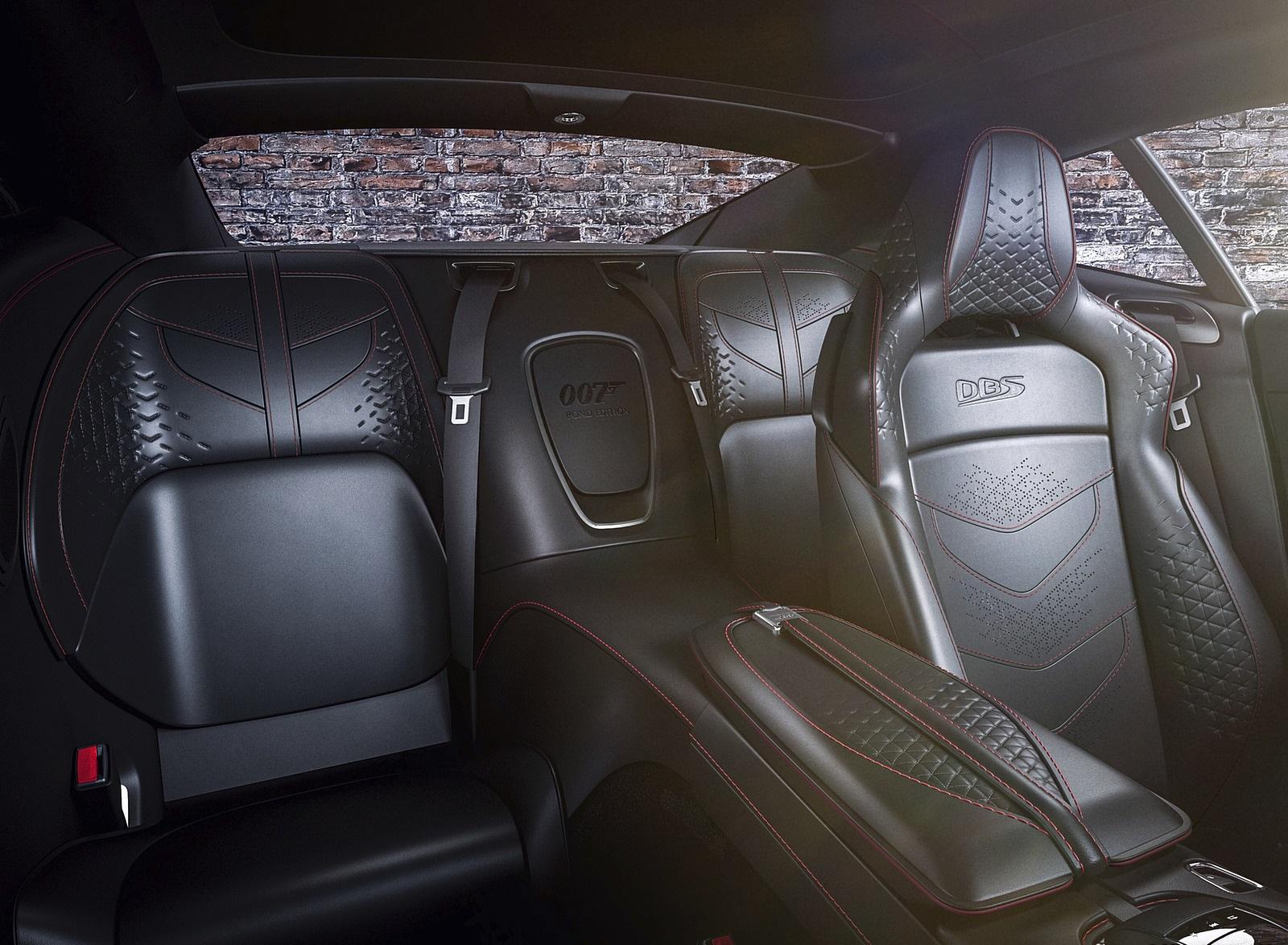 2021 Aston Martin DBS Superleggera 007 Edition Interior Seats Wallpapers (9)