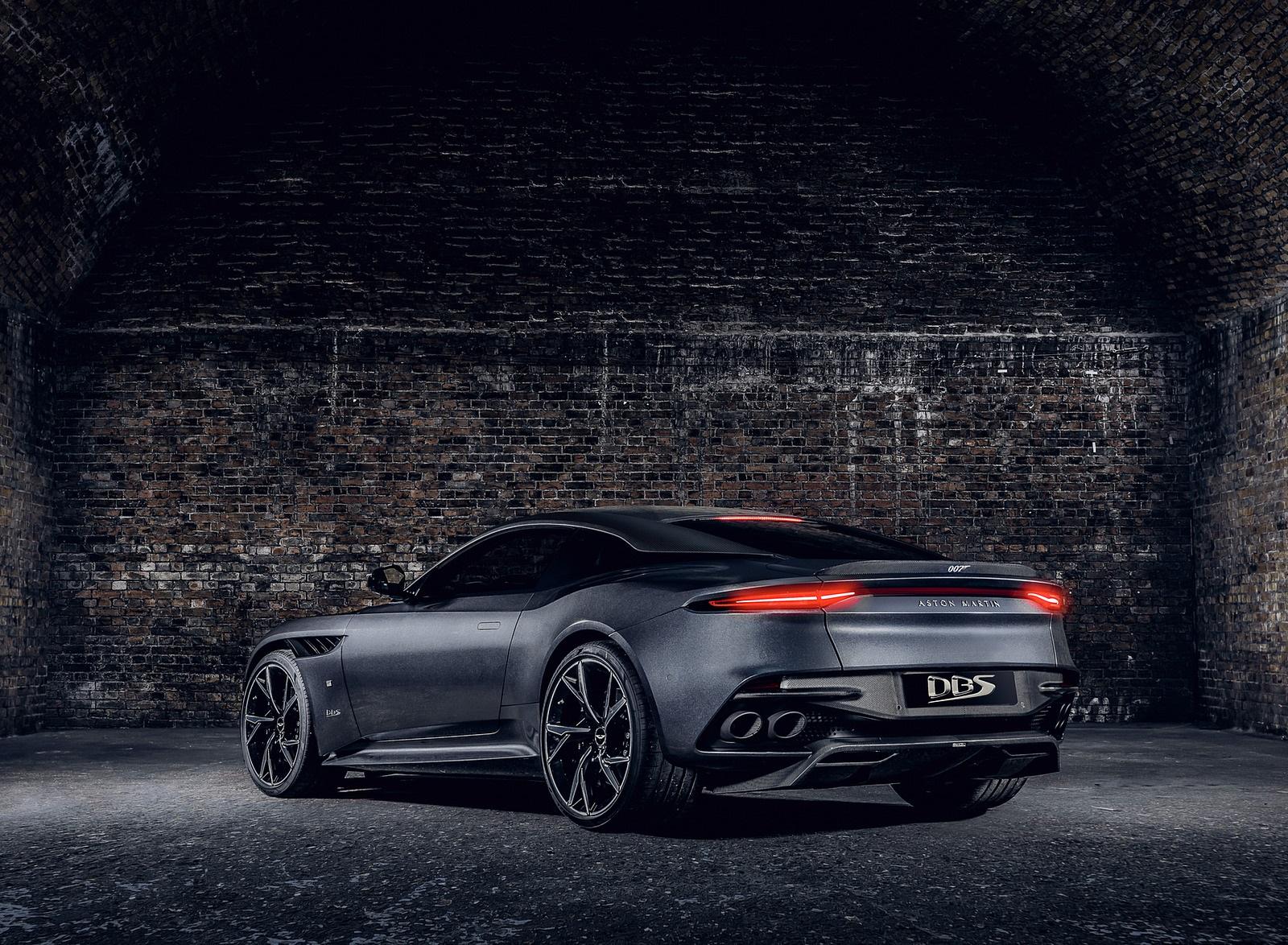 2021 Aston Martin DBS Superleggera 007 Edition Rear Three-Quarter Wallpapers (3)