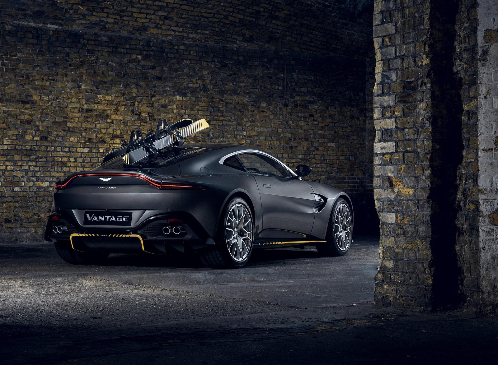 2021 Aston Martin Vantage 007 Edition Rear Three-Quarter Wallpapers (4)