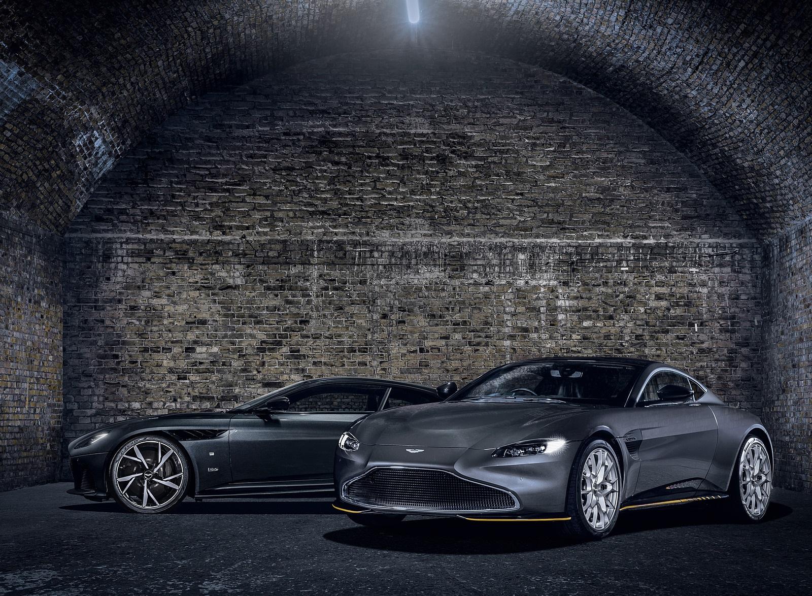 2021 Aston Martin Vantage 007 Edition and DBS Superleggera 007 Edition Wallpapers (7)