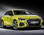 2021 Audi S3 Sportback (Color: Python Yellow) Front Three-Quarter Wallpapers 150x120 (21)