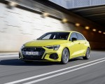 2021 Audi S3 Sportback (Color: Python Yellow) Front Three-Quarter Wallpapers 150x120 (7)