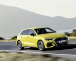 2021 Audi S3 Sportback (Color: Python Yellow) Front Three-Quarter Wallpapers 150x120 (2)