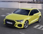 2021 Audi S3 Sportback (Color: Python Yellow) Front Three-Quarter Wallpapers 150x120 (11)
