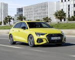 2021 Audi S3 Sportback (Color: Python Yellow) Front Three-Quarter Wallpapers 150x120 (8)