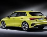 2021 Audi S3 Sportback (Color: Python Yellow) Rear Three-Quarter Wallpapers 150x120 (23)