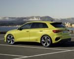 2021 Audi S3 Sportback (Color: Python Yellow) Rear Three-Quarter Wallpapers 150x120 (13)