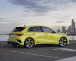 2021 Audi S3 Sportback (Color: Python Yellow) Rear Three-Quarter Wallpapers 150x120 (14)
