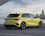 2021 Audi S3 Sportback (Color: Python Yellow) Rear Three-Quarter Wallpapers 150x120 (15)