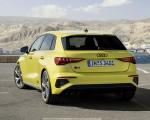 2021 Audi S3 Sportback (Color: Python Yellow) Rear Three-Quarter Wallpapers 150x120 (16)
